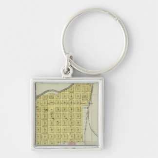 Valley Falls, Williamstown, and Lowell, Kansas Keychain