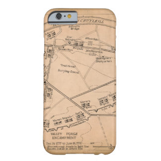 Valley Forge Encampment Map (Dec. 1777-June 1778) Barely There iPhone 6 Case