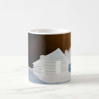 Valley Forge, Pa Cabin (colors modified) Coffee Mug
