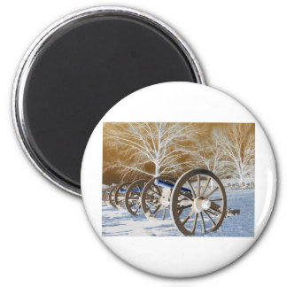 Valley Forge, Pa. Cannons (modified Colors) Magnet