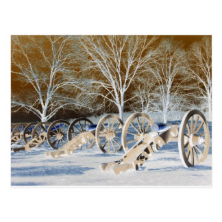 Valley Forge, Pa. Cannons (modified Colors) Postcard