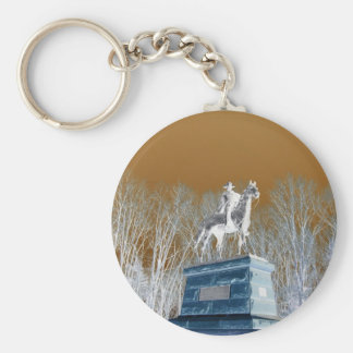 Valley Forge, Pa (Modified Colors) Keychain