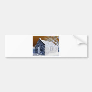Valley Forge, Pa Schoolhouse (Modified Colors) Bumper Stickers