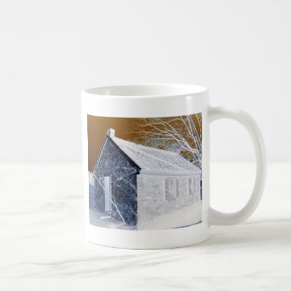 Valley Forge, Pa Schoolhouse (Modified Colors) Coffee Mug