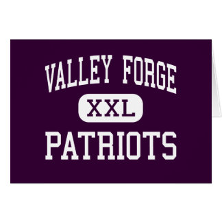 Valley Forge - Patriots - High - Parma Heights Greeting Card