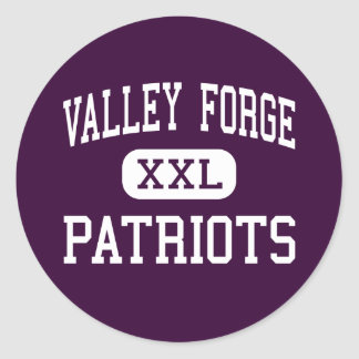Valley Forge - Patriots - High - Parma Heights Classic Round Sticker