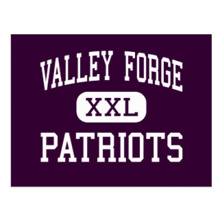 Valley Forge - Patriots - High - Parma Heights Postcard