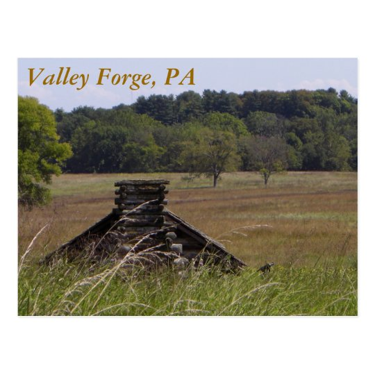 Valley Forge Postcard