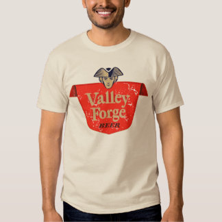 Valley Forge Vintage Beer Label - Distressed T Shirt