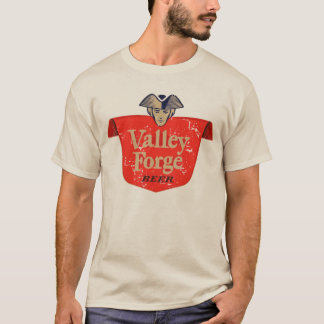 Valley Forge Vintage Beer Label - Distressed T-Shirt
