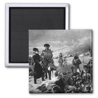 Valley Forge - Washington & Lafayette_War Image Magnet