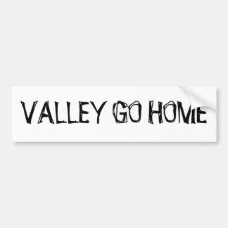 VALLEY GO HOME STICKER