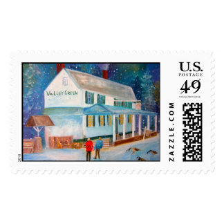 Valley Green Postage Stamps