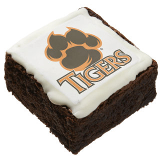 Valley High School Tiger Graduation Chocolate Brownie