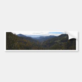 Valley In Calabria Car Bumper Sticker