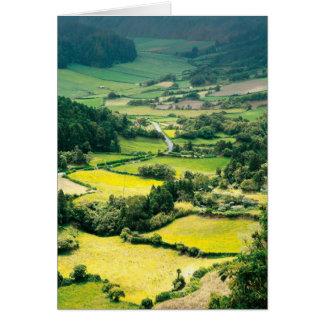 Valley in Sete Cidades Card