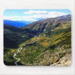Valley in Switzerland Mousepads
