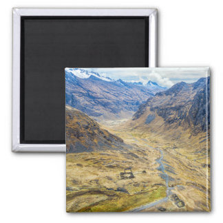 Valley in the Andes Mountains Fridge Magnet