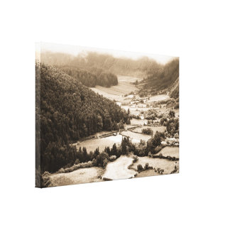 Valley in the Azores Canvas Print