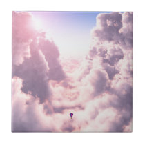 Valley in the Clouds Decorative Tile / Trivet