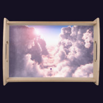 Valley in the Clouds Serving Tray