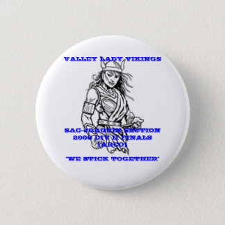 VALLEY LADY VIKINGS BUTTON