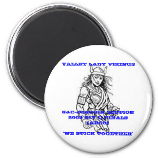 Valley Lady Vikings Magnet