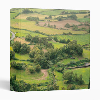 Valley landscape binder