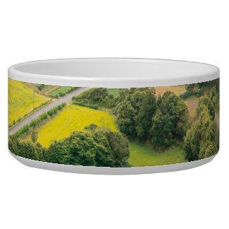 Valley landscape bowl