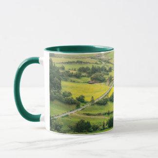 Valley landscape mug
