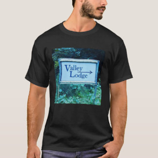 Valley Lodge Back and Front T-Shirt