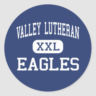 Valley Lutheran - Eagles - High - Phoenix Arizona Classic Round Sticker