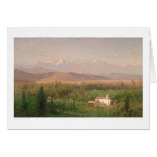Valley near Los Angeles, California (0704A) Card