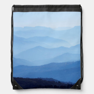 Valley Of A ThoUSAnd Hills, Kwazulu-Natal Drawstring Backpack