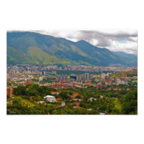 Valley of Caracas Photo Print