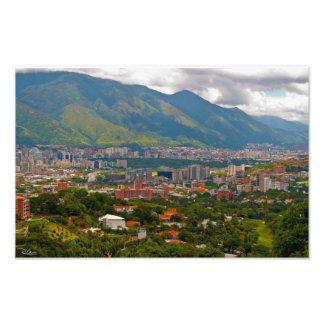 Valley of Caracas Art Photo