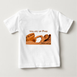 Valley of Fire Baby T-Shirt