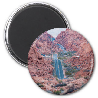 Valley of Fire Drive Magnet