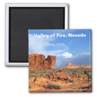 Valley of Fire Nevada magnet