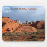 Valley of Fire, Nevada nature scenes Mouse Pad