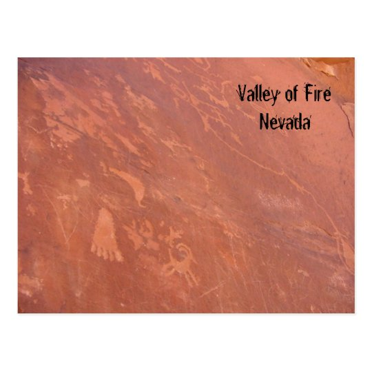 Valley of Fire, Nevada Postcard