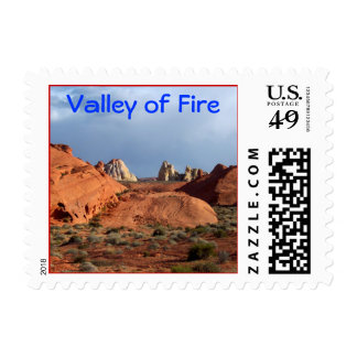 Valley of Fire Stamp