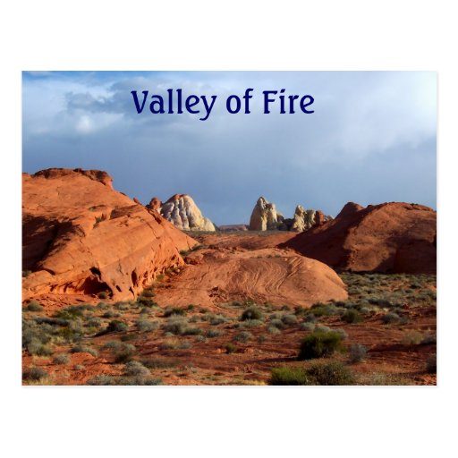 Valley of Fire postcards