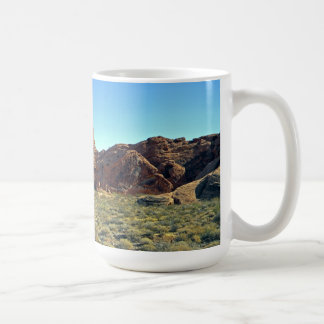 Valley Of Fire Rock Formations Mug