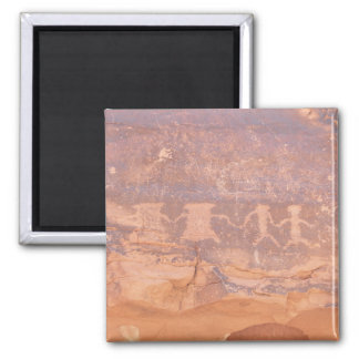 Valley of Fire State Park 2 Inch Square Magnet