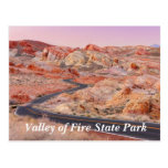 Valley of Fire State Park, Nevada Postcard