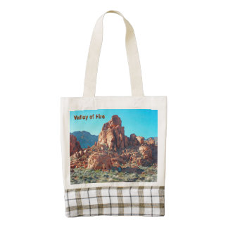 Valley of Fire State Park Zazzle HEART Tote Bag