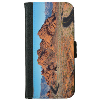 Valley of Fire Wallet Phone Case For iPhone 6/6s