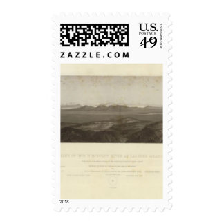 Valley of Humboldt River at Lassen's Meadows Postage Stamp