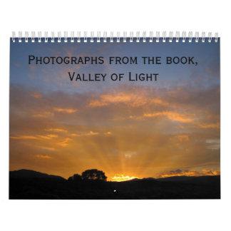 Valley of Light Calendar